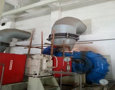 浆液循环泵堵漏施工