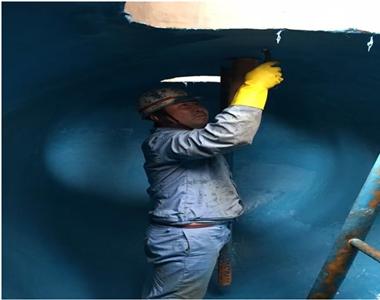 次氯酸钠储罐内壁修补